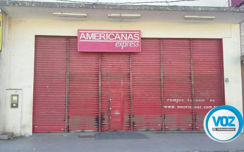 Lojas Americanas é arrombada em Carpina