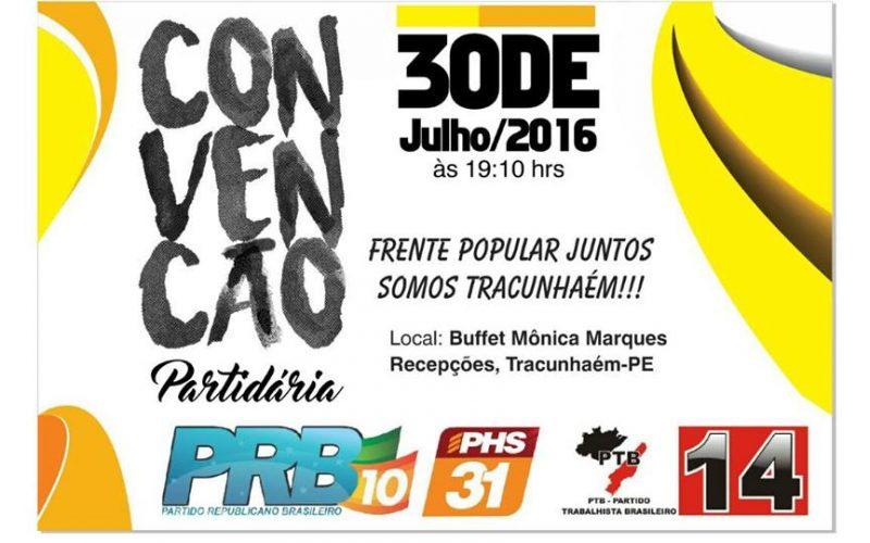 PRB oficializará Nido Coelho como candidato a prefeitura de Tracunhaém neste sábado (30)