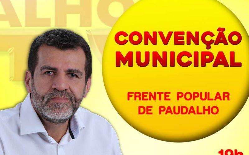 Candidatura de Pereira a reeleição em Paudalho será confirmada na noite deste sábado (30)
