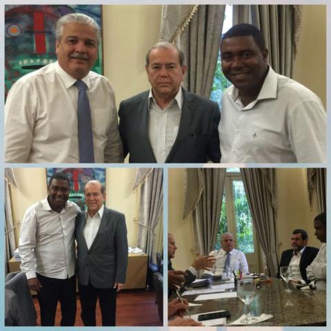 Júnior Botafogo oficializa União com deputado Romário Dias