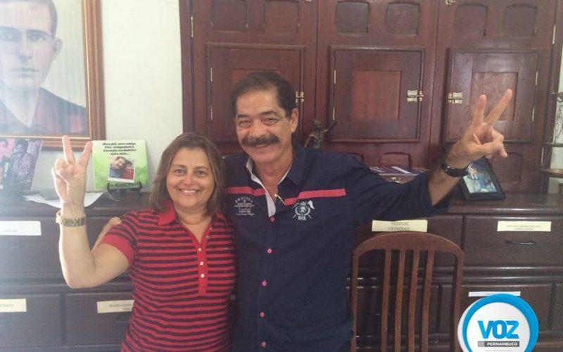 Vereadora Lia será vice de Joaquim Lapa em Carpina