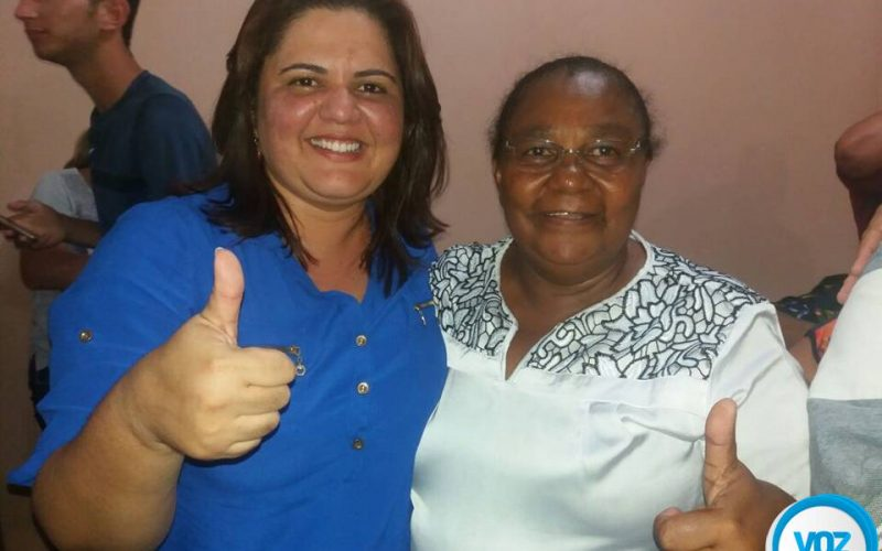 Judite Botafogo anuncia vice para a disputa em Lagoa do Carro