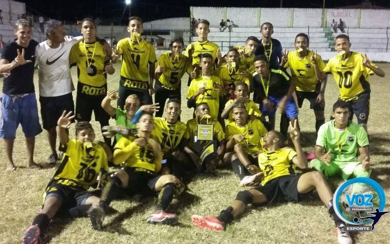Nos pênaltis, Escolinha do Pacheco vence União e leva Título do Sub-17 pela Copa Talentos de Carpina