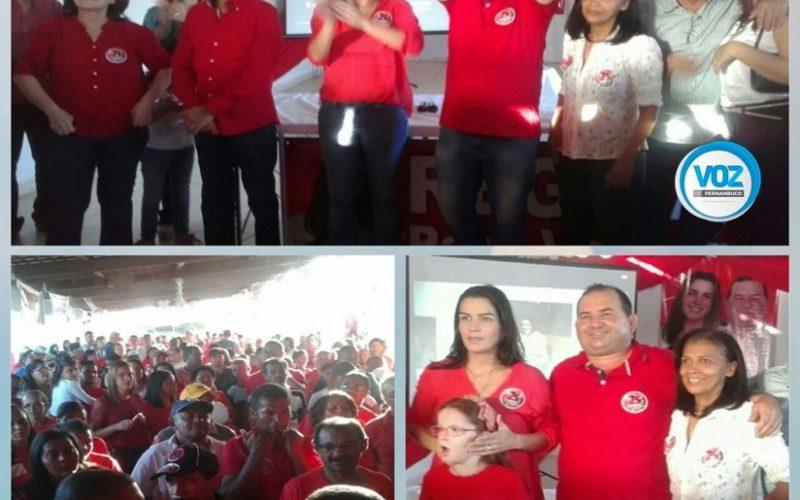 Convenção do DEM oficializa candidatura de Regina Lapa ao cargo de prefeita de Tracunhaém