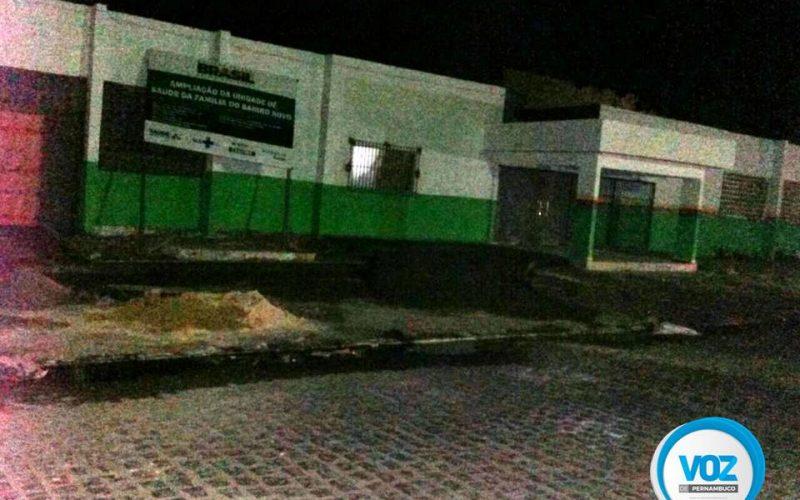 Prefeitura do Carpina adia inauguração de UBS do Bairro Novo