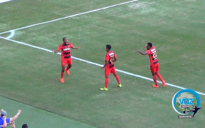 Confira o gol da vitória do Sport diante do Flamengo na Arena Pernambuco