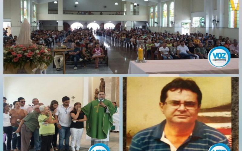 Carpina: Missa marca o 7º dia da morte de radialista em Carpina