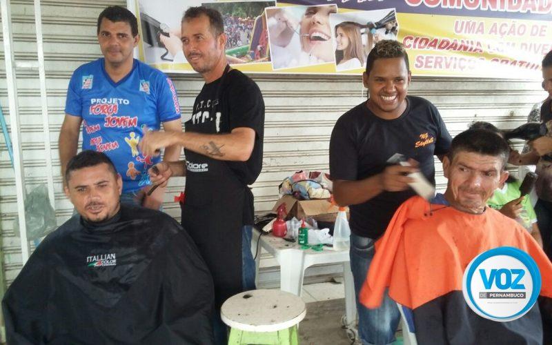 Projeto Força Jovem realizou Dia de Ação Social no bairro Santo Antônio em Carpina