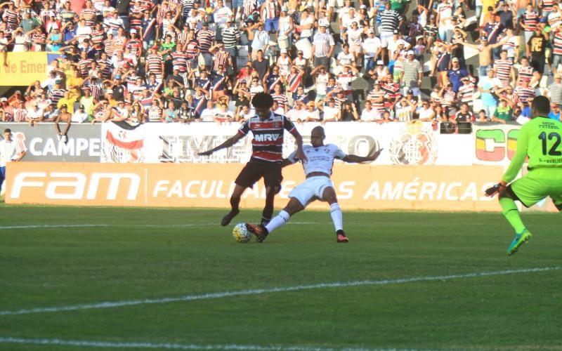 No Arruda, Santa é derrotado pelo Fluminense por 1×0
