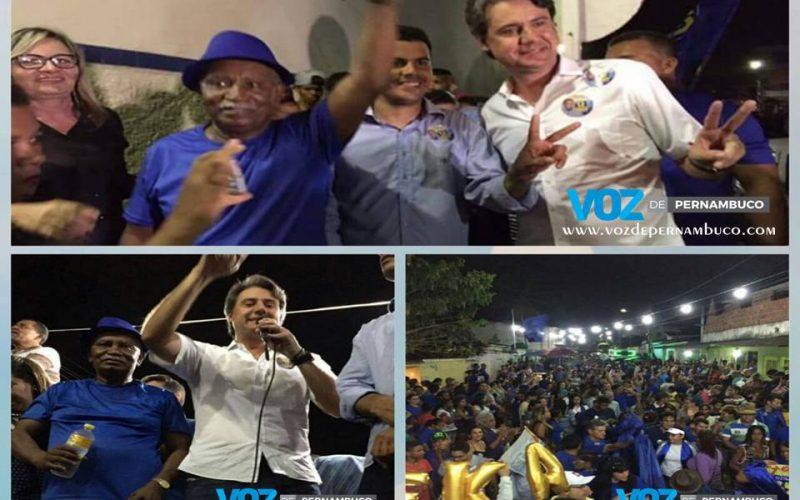 Botafogo realizou 2º comício no loteamento três Marias em Carpina