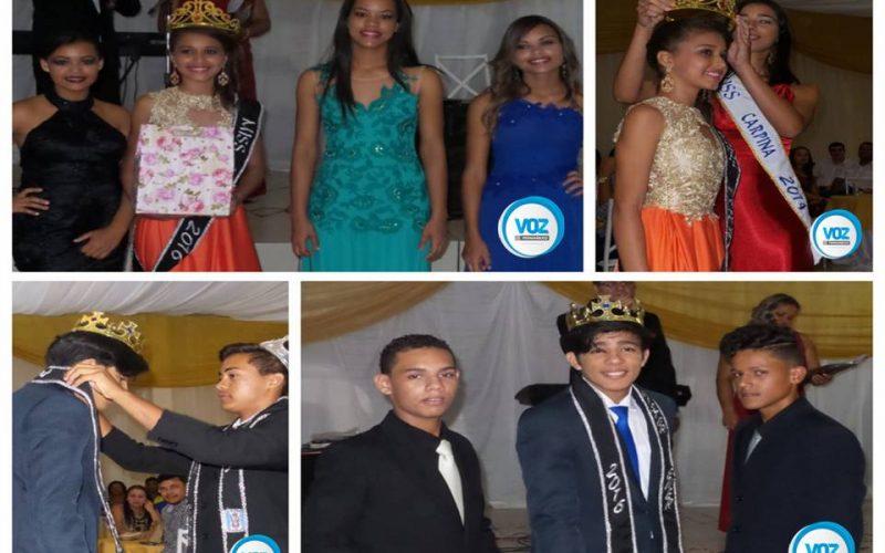 Carpina: Miss e mister da Escola Municipal Ernesto Ribeiro foram escolhidos na ultima sexta (2)