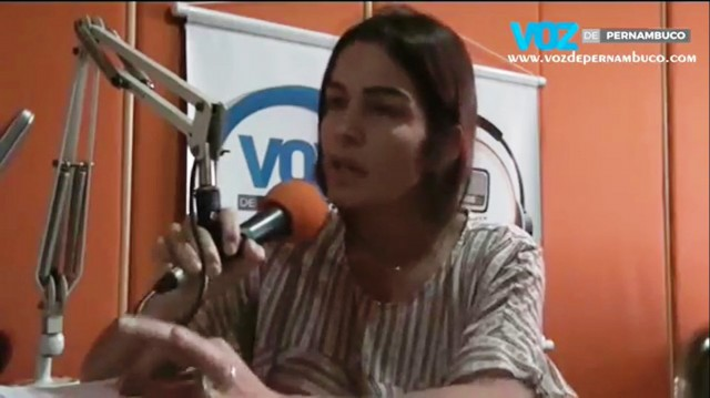 Assista a entrevista da candidata Regina Lapa no Programa Francisco Júnior e Voz de Pernambuco