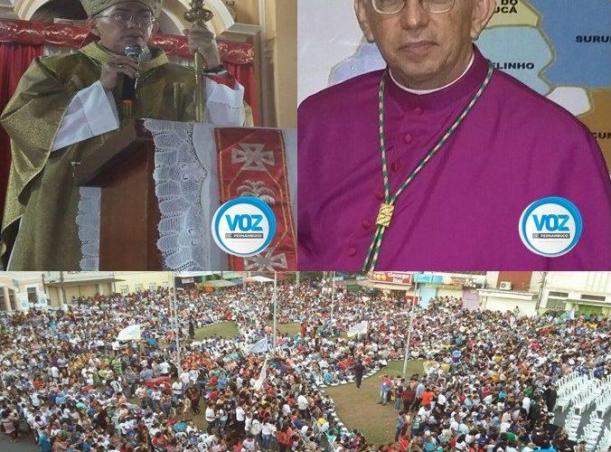 Bispo Dom Lucena foi empossado no último domingo (18) em Nazaré da Mata