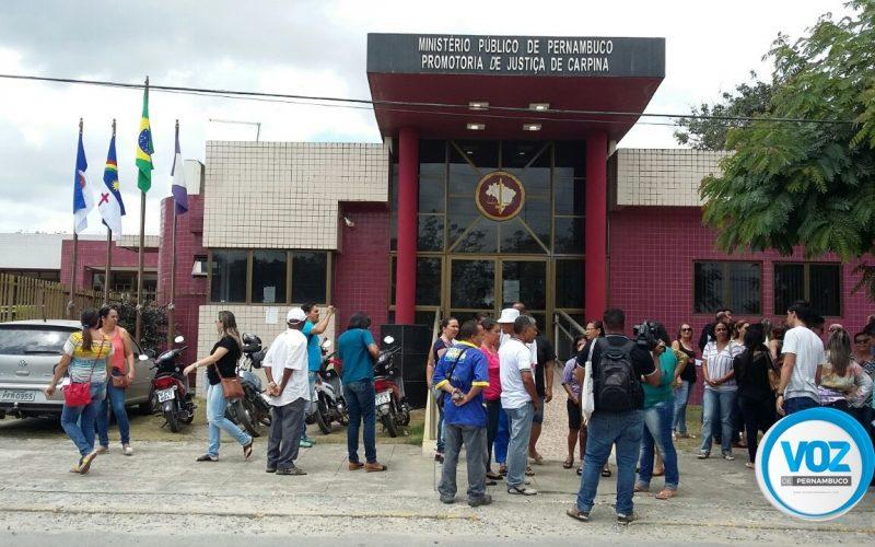 Ministério Público recomenda aprovação de orçamento em reunião com sindicatos, funcionários e vereadores em Carpina