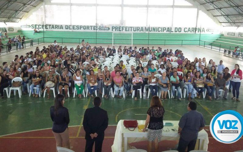 Servidores da Prefeitura de Carpina participam de assembleia para esclarecimento de pagamentos