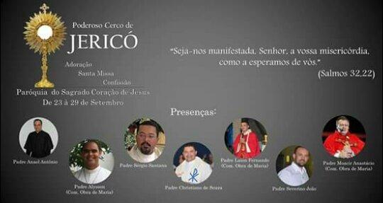 Cerco de Jericó será realizado de 23 à 29 em Carpina