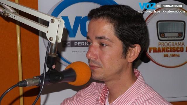 Assista a entrevista do presidente da câmara de Carpina Dudu Izidoro no Programa Francisco Jr