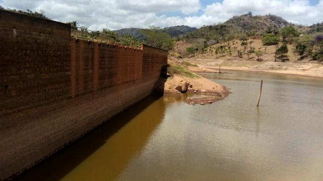 Barragem de Santana no Agreste 1