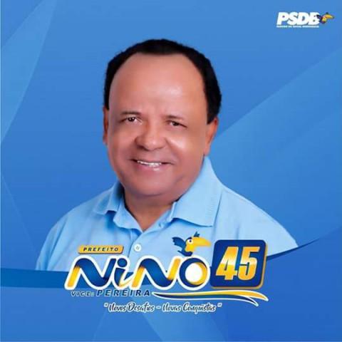 Em Nazaré da Mata, Nino é eleito prefeito da cidade