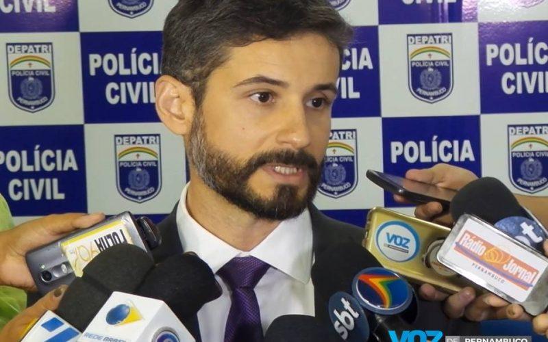 Vídeo: Assista a entrevista do Delegado de Carpina sobre operação Caça Fantasma