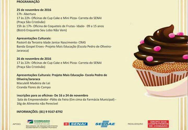 Condado realizará 1º Festival de Mestres Confeiteiros da Mata Norte de Pernambuco
