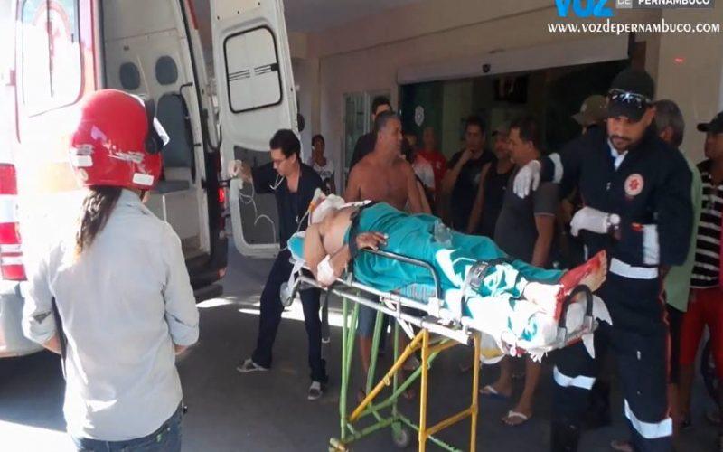 Homem sofreu tentativa de homicídio na tarde desta sexta (18) em Carpina