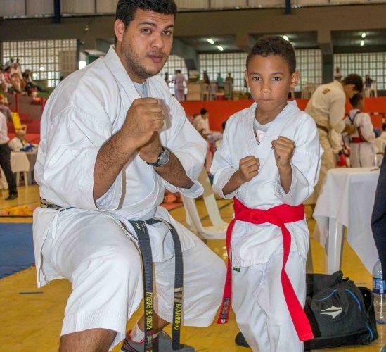 Paudalho foi representada em torneio de karatê no último domingo (20) em Caruaru