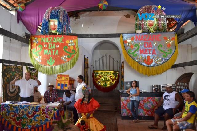 Em Nazaré, Prefeito Nino participa de primeira reunião com representantes de Maracatus